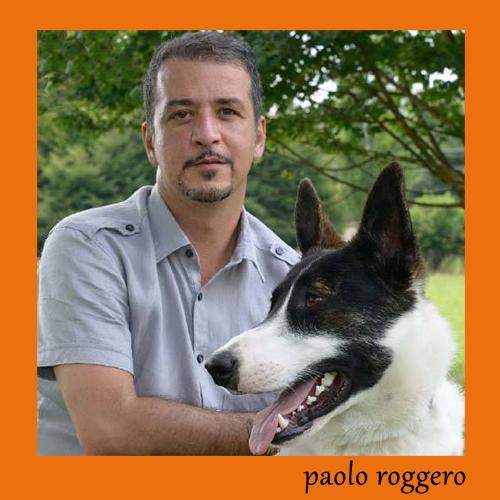 Paolo con un suo grande amico a 4 zampe