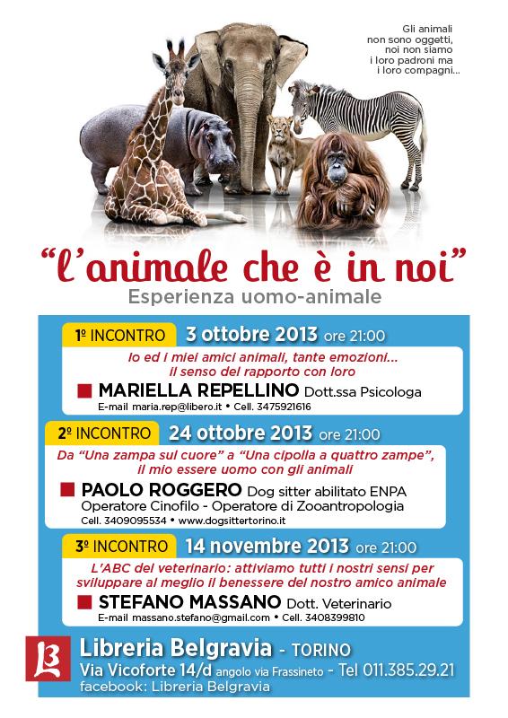 L'animale che è in noi_ottobre 2013